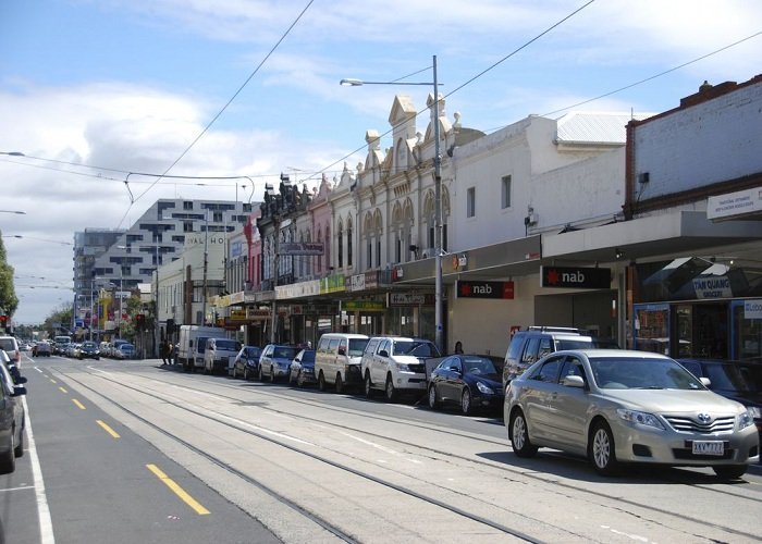 Barkly Street Footscray